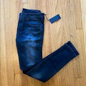 R13 Allison crop jeans